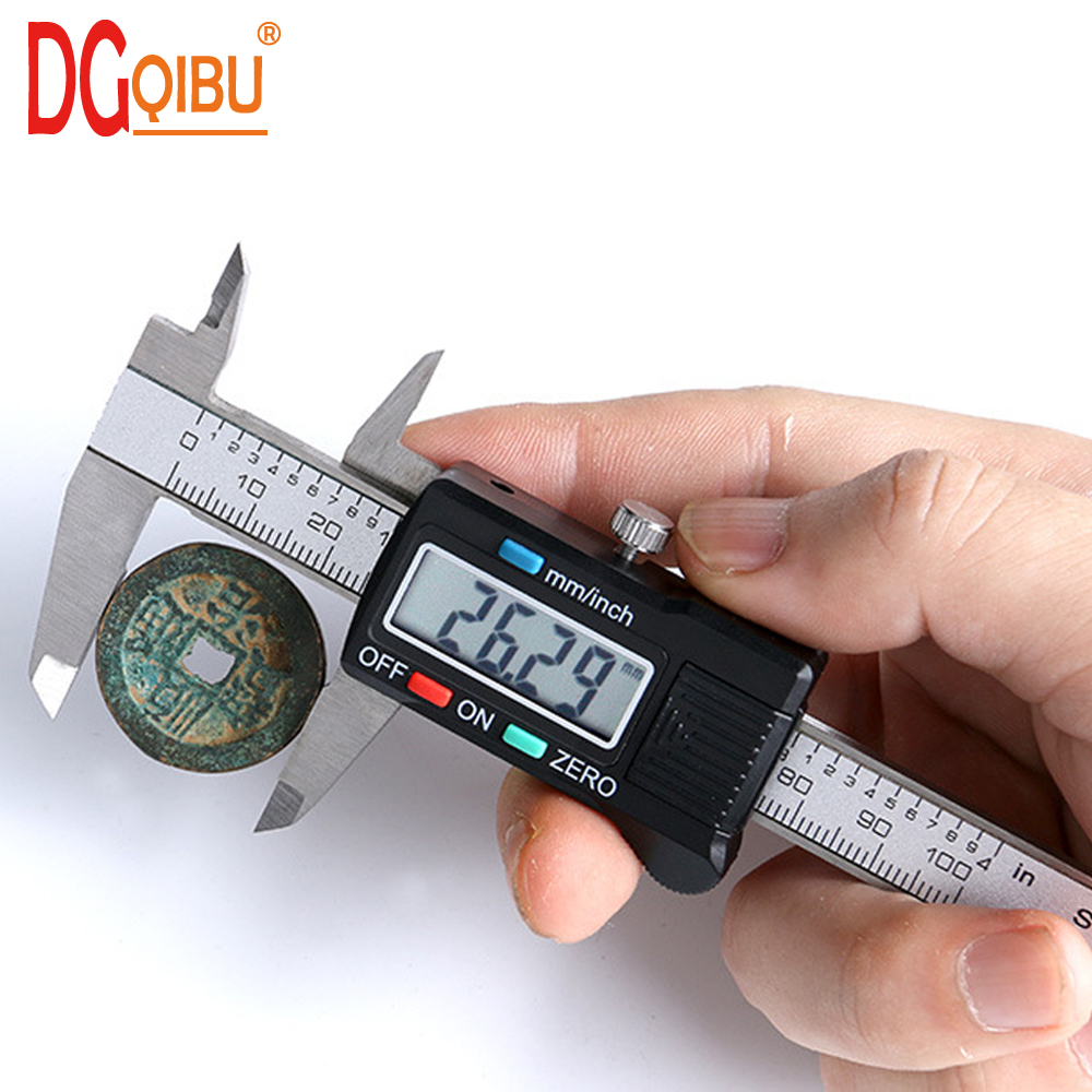 Ferramentas Time-limited Top Fashion Digital Micrometer 2019 Vernier Calliper 100 Mm Digital Caliper Gauge Electronic Calipers