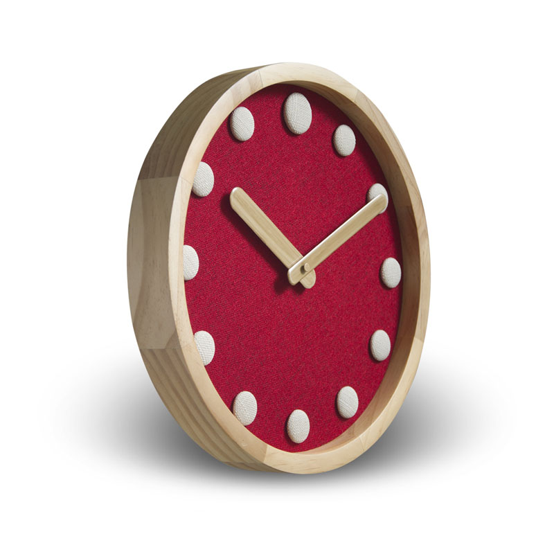 Personality Wooden Wall Clock Simple Modern Design for Living Room Creative Wood Clocks Hanging Watch no Glass Silent 12 inch