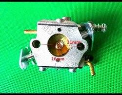 Carburador de motosierra para Husqvarna Poulan Partner 350 351 370 371 420 para piezas de herramienta Walbro 33-29 reemplazar #503 28 32-08