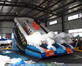 (China Guangzhou)  inflatable slides,Castle slides  Corsair slide