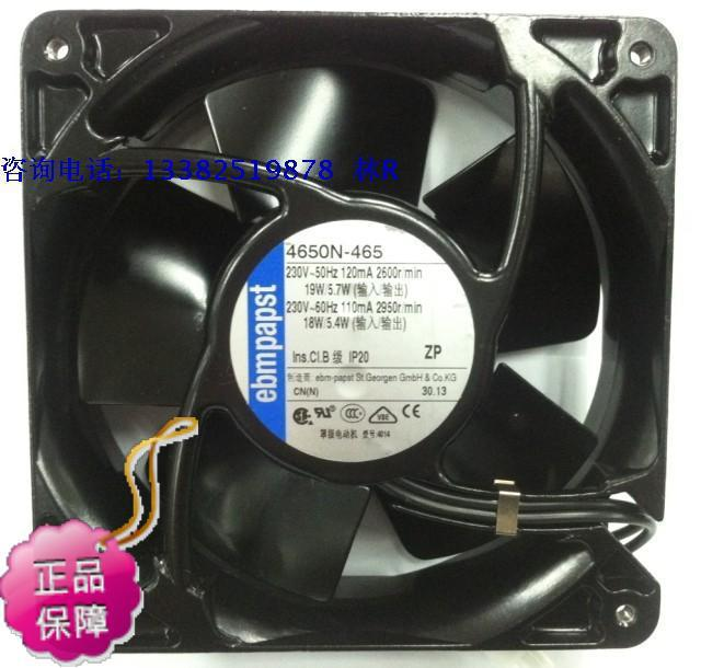 New Original German EBMPAPST AC230V 19W 12038 axial flow cooling fan original ebmpapst w2g107 ad03 13 12cm 12038 24v3 3w full metal cooling fan