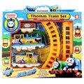 2017 новое прибытие томас Маленький поезд и друзья электрический игрушечный, АА Батареи электрические игрушки 27*5.3 см, дети день рождения gift.868