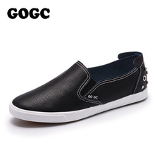 GOGC Brand Studs & Crystal Flat Sko Kvinner Soft Design Sko Kvinner Luksus 2018 Loafers White Silver Women Sneakers Casual Shoes