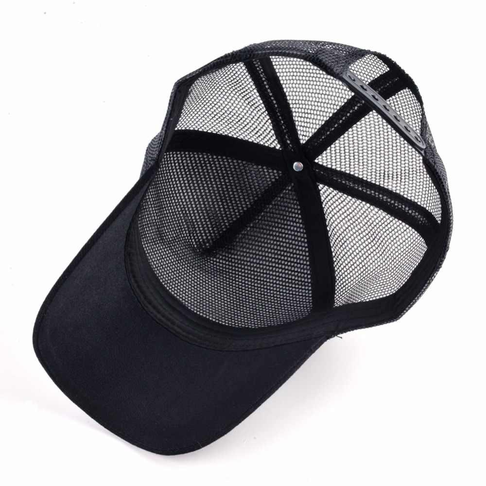 ... 8 tipos de bordado animal gorras de béisbol de los hombres de malla  transpirable Snapback gorras ... deb77a7eca0