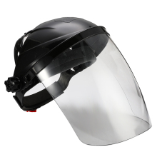 Anti-shock Welding Helmet Face Shield Solder Mask Transparent Lens Face Eye Protect Shield Anti-UV Anti-shock Safety Mask