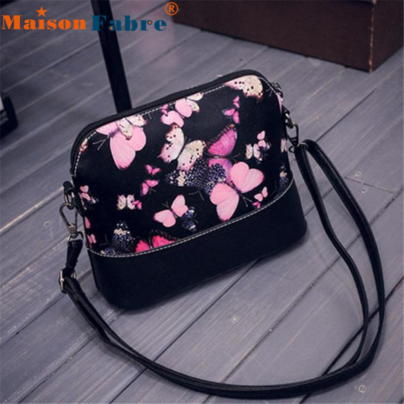 Hot sale Women Printing Shoulder Bag Leather Purse Satchel Messenger Bag Fashion bags wholesale