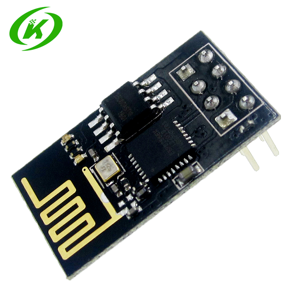 1Pcs ESP8266 ESP-01 ESP01 Serial Wireless WIFI Module Transceiver Receiver Internet Of Things Wifi Model Board