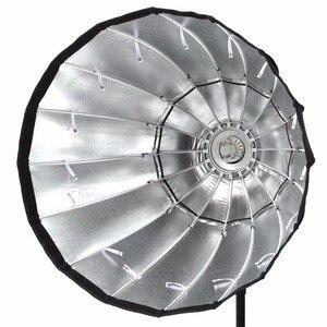Image 4 - Godox przenośny P90h 90CM głębokie paraboliczne Softbox Bowens zamontować błyskanie studyjne Speedlite reflektor Photo studio Softbox