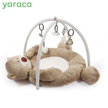 Ontwikkelen Mat Voor Pasgeborenen Kinderen Playmat Baby Gym Speelgoed Educatief Musical Tapijten Met Frame Opknoping Rammelaars Spiegel
