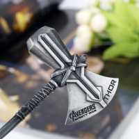 Thor Hammer Stormbreaker Axe Keychain Avengers Infinity War (3 Designs) 4