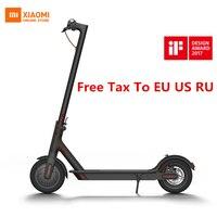 2018 Оригинал Сяо mi Цзя M365 Smart Электрический самокат складной Skate совета для взрослых mi ni mi легкий 30 км mi leage Longboard