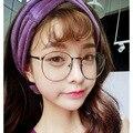 Мода 2016 новое поступление круглые очки кадр 9535 металлические полный кадр женщин-мужская очки женский очки