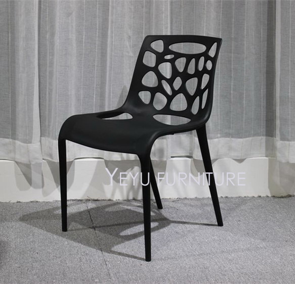 Minimalist Modern Design Stackable Plastic PP Dining Side Chairs, Fashion  Stack Loft Meeting Chair, Cafe Chair, Nice Study Chair In Dining Chairs  From ...