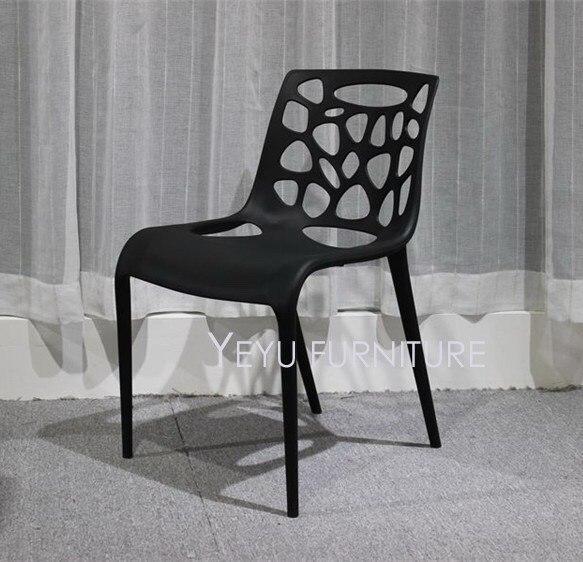 Sedie In Plastica Impilabili.Moderno E Minimalista Design Impilabile In Plastica Pp Da Pranzo