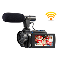 Hot 3 Inch Touch Screen 4K Nightshot Video Cameras 4K 48MP 1080P WiFi Digital Photo Video Camcorder