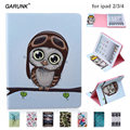for Apple ipad 2 ipad 3 ipad 4 Tablet Cover 9.7 inch Leather Printed Paint Flowers Pattern Wallet Colorful for Ipad 2 3 4 Case