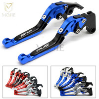 LOGO SV650 For SUZUKI SV650 SV 650 1999 2009 Motorcycle Accessories Adjustable Folding Extendable Brake Clutch