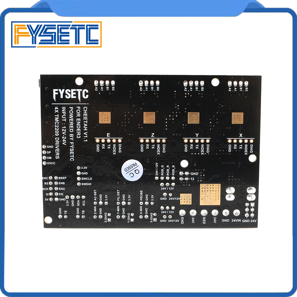 Image 2 - Cheetah V1.2a 32bit Board TMC2208 TMC2209 UART Silent Board Marlin 2.0 SKR mini E3 For Creality CR10 Ender 3 Ender 3 Pro Ender 5-in 3D Printer Parts & Accessories from Computer & Office
