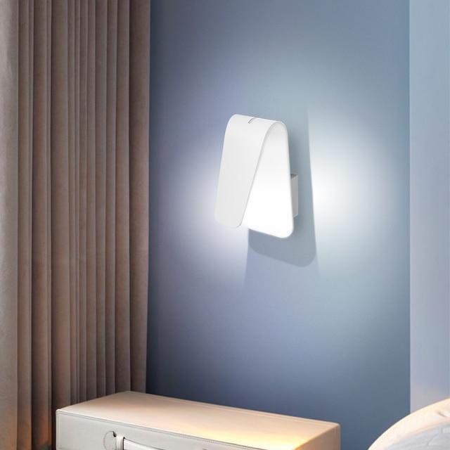 Modern Led Wall Light Bedroom Bedside Lights Indoor Fixture Sconce Home Decor Living Room Lamp Ac85 265v