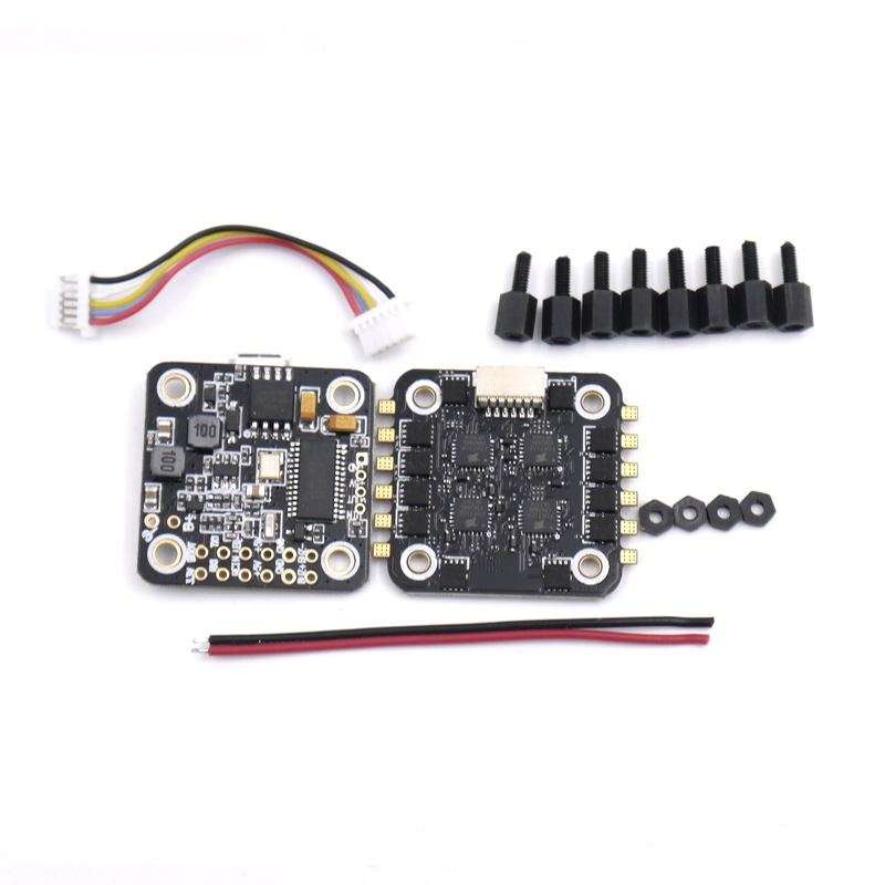 Mini F4 Flytower Flight control Integrated OSD 4 in 1 ESC Built-in 5V 1A BEC Support Dshot For FPV RC Drone high quality flytower f3 flight controller 25 200 400mw switchable fpv transmitter osd dshot 30a 4 in 1 esc pdb