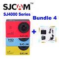 Оригинал SJCAM SJ 4000 & SJ4000 WIFI и Плюс 1080 P HD Действие Спорт DV SJ4000 Sj Cam + Дополнительная аккумулятор + Зарядное Устройство + Автомобильное Зарядное Устройство + Присоске