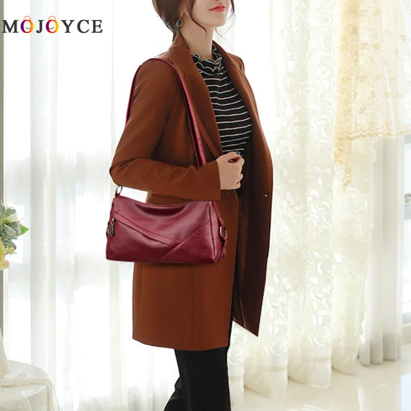 Luxury Handbags Women Bags Designer Elegant Office Ladies PU Leather Shoulder Bag Vintage Female Bolsa Feminina 2