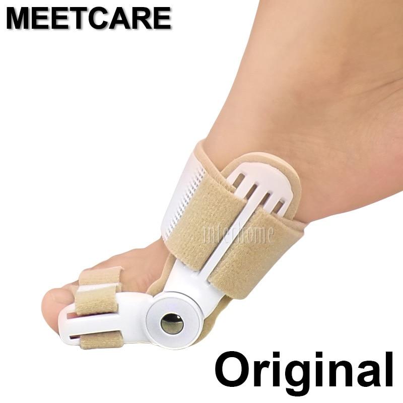 Original New Foot Braces Ortez Big Toe Hallux Valgus Orthosis Splint Straightener Corrector Foot Pain Relief Correction Pedicure tune big foot