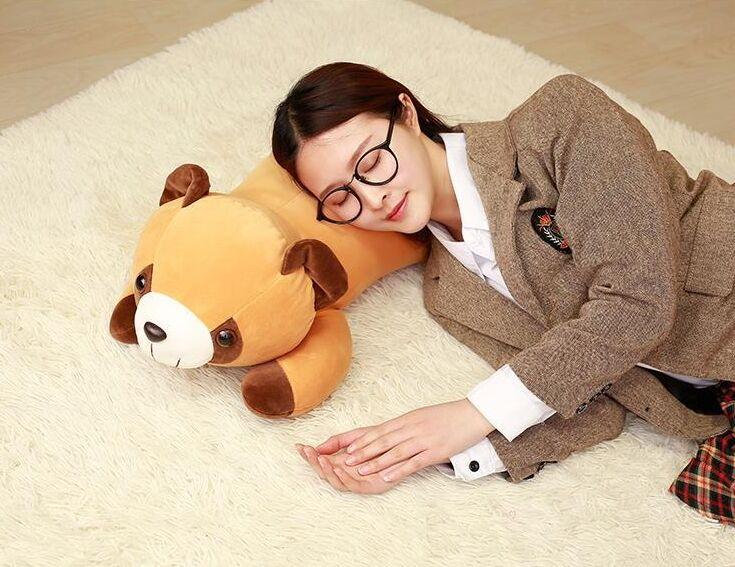 Peluche peluche grand 65 cm sujet raton laveur doux oreiller cadeau d'anniversaire w0909