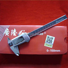 0 ~ 150 мм 6 дюймов GuangLu из нержавеющей стали электронной цифровой штангенциркуль правило микрометра калибровочных / измерительный прибор