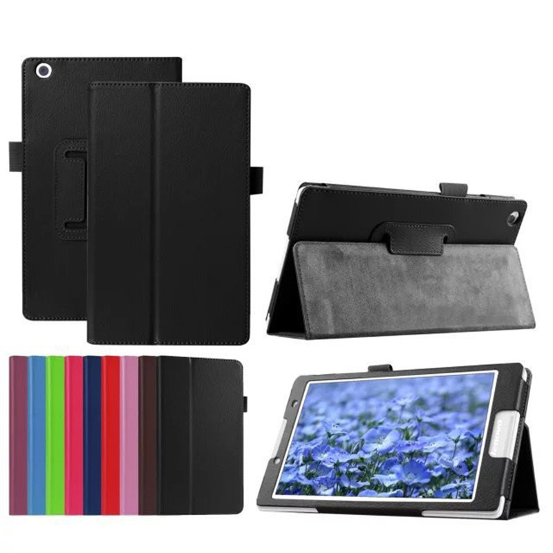 Luxury Lichee Folio Book PU Leather Stand Case Smart Cover Capa Para for Lenovo Tab A8 A5500 A8-50 5500-h Tablet PC + Screen+Pen ultra slim case for lenovo tab 2 a8 50 case flip pu leather stand tablet smart cover for lenovo tab 2 a8 50f 8 0inch stylus pen