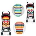 Nova Espessamento Listrado Almofada Almofada Carrinho de Bebê Carrinho De Bebê Infantil Do Bebê Do Assento de Carro Almofada Esteiras Stroller Acessórios