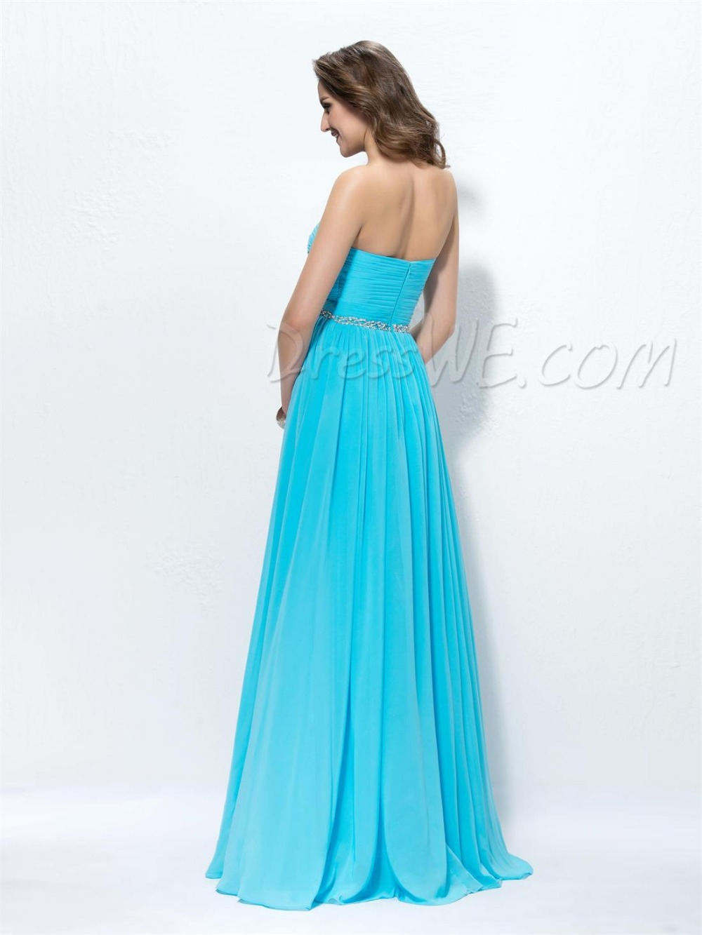 Long Cheap Bridesmaid Dress Plus Size For Casual Women Weddings ...