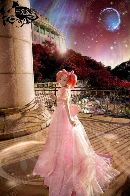 Free Shipping Sailor Moon Princess Serenity Tsukino Usagi Pink Dress