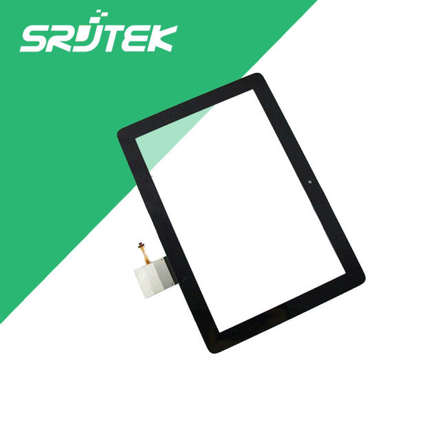 Para huawei mediapad 10 link s10-231l s10-231u nueva negro panel táctil digitalizador del sensor de cristal piezas de repuesto de reparación