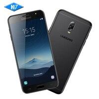 Nowy Oryginalny Samsung Galaxy MP SM-C7100 C8 3G RAM 32G ROM przednia Kamera dual sim Android 7.1 Octa rdzeń Lte 4G Mobilna telefon