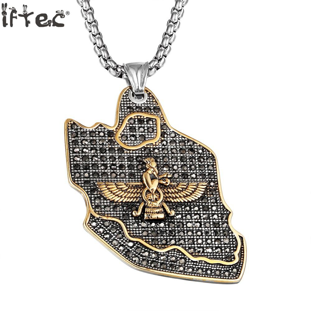 2018 New Hiphop <font><b>Two</b></font> <font><b>Wings</b></font> Old <font><b>Man</b></font> Quality Stainless Steel Necklace & Pendant Jewelry <font><b>Women</b></font> <font><b>And</b></font> <font><b>Men</b></font> Birthday Gift