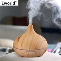 Eworld 300ml Air Humidifier Essential Oil Diffuser Aroma Lamp Aromatherapy Electric Aroma Diffuser Mist Maker For