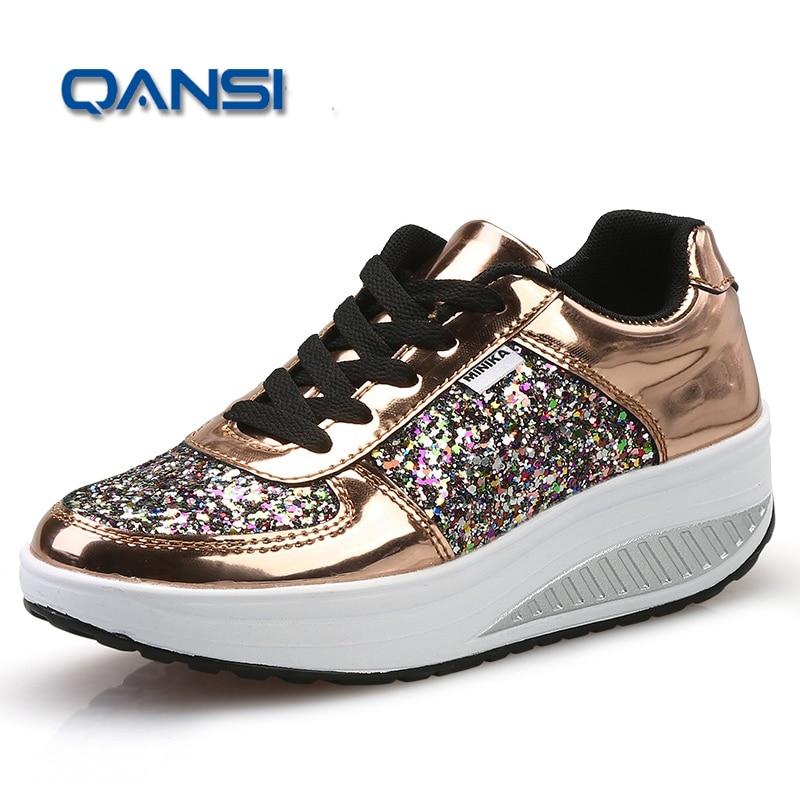 Otoño/Invierno Deportes Entrenadores Zapatos Aumento de la Altura Plataforma de