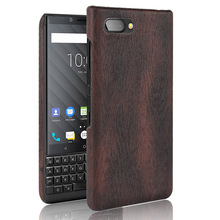Wood PU Leather PC hard Cover Soft Slim Case For Blackberry KEYtwo Edition sliver Q20 KEYone Mercury Dtek70 Q30 PRIV