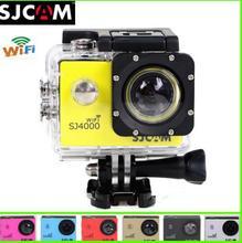 100% SJCAM Original SJ4000 WiFi Version Full HD 1080P 12MP Diving Bicycle Action Camera 30m Waterproof Car DVR Sports DV