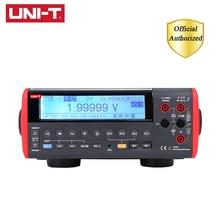 UNI-T UT805A True RMS LCD Desktop Benchtop Digital Multimeters Volt Amp Ohm Capacitance Hz Tester 199999 Counts High-Accuracy