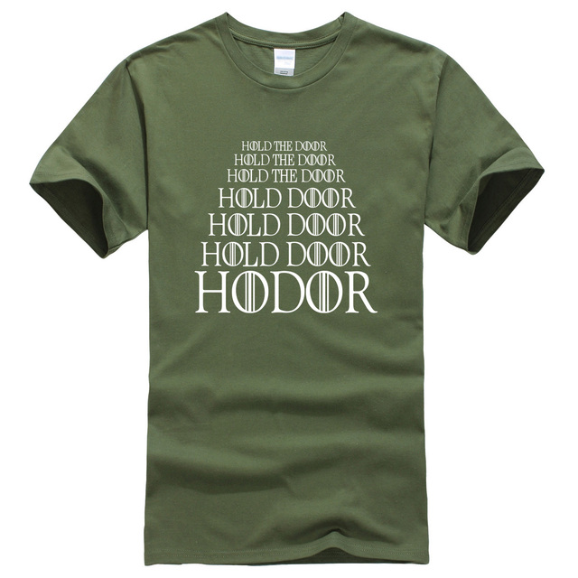 Game of Thrones Hold The Door Hodor Men T-Shirt