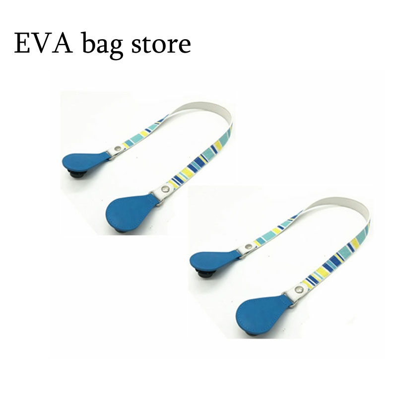New Long Short Flat Handles with drops end for Obag Faux Leather DIY Lacquer Handle Removable Drop End for O Bag OCHIC
