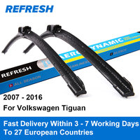 Car Wiper Blade For Volkswagen Jetta 6 24 21 Rubber Bracketless Windscreen Wiper Blades Car Accessories