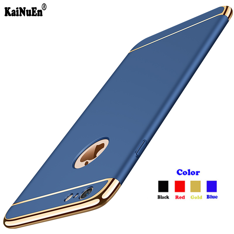 KaiNuEn luxury Shockproof hard Armor plastic Phone back etui,coque,cover,case for Apple iphone6 iphone 6 s 6s accessories 3 in 1