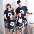207 mother father baby family look kids mickey clothing set mother son outfits father and son clothes mother daughter pajamas