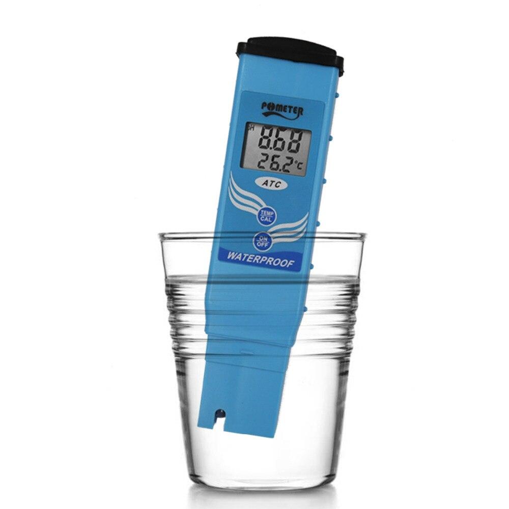 Карманный цифровой PH 097 измеритель ph тестер температуры Автоматическая Калибровка PH тестер для лаборатории аквариума бассейна качество во