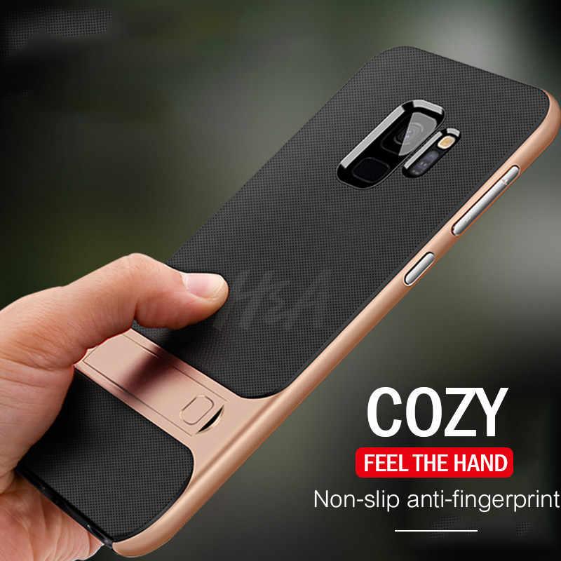 H & A Роскошный чехол для телефона samsung Galaxy S10 S9 S8 Plus S10 Lite S7 полное покрытие ударопрочный чехол Note 8 9 держатель Kickstand чехол