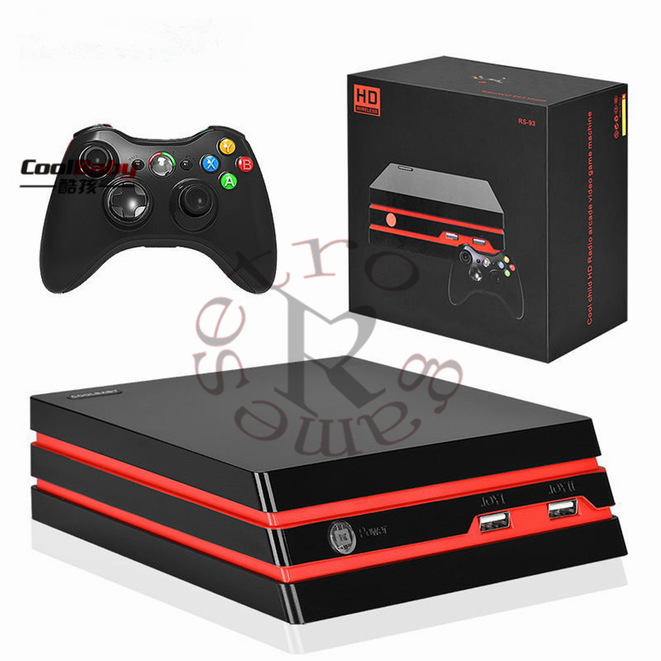 DHL 8pcs/lot TV game console Support HDMI/AV interface video game wireless controller built-in 600 non repetitive retro games
