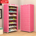 FREE shipping Non-woven 8 Tier Homestyle Shoe Cabinet Shoes Racks Storage Large Capacity Home Furniture Diy Simple